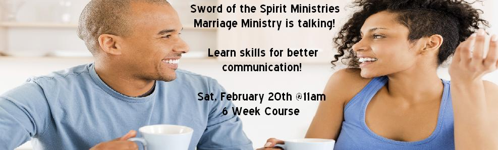 Marriage Ministry-Communication