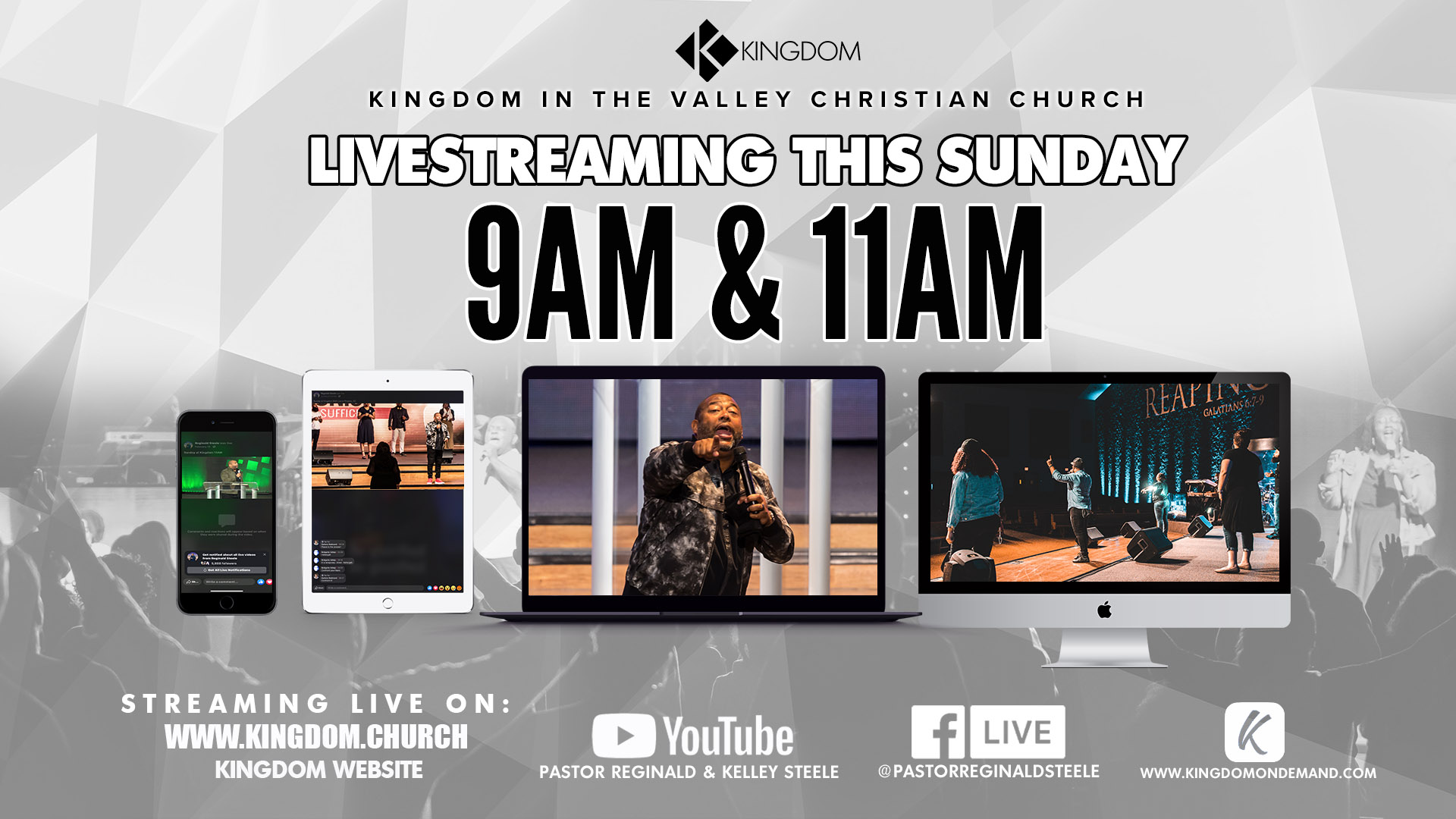Live Streaming this Sunday