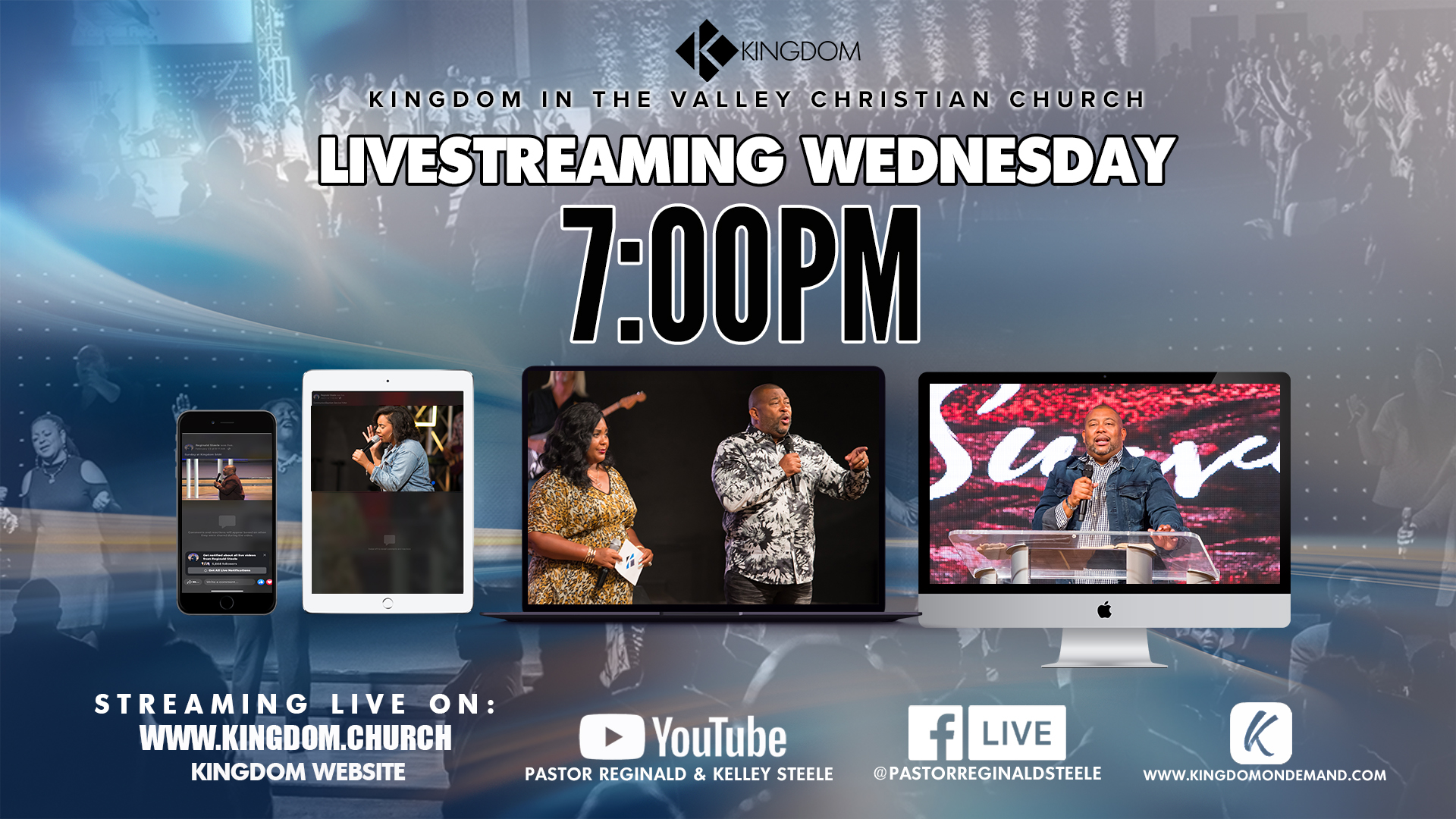 Live Streaming Wednesdays