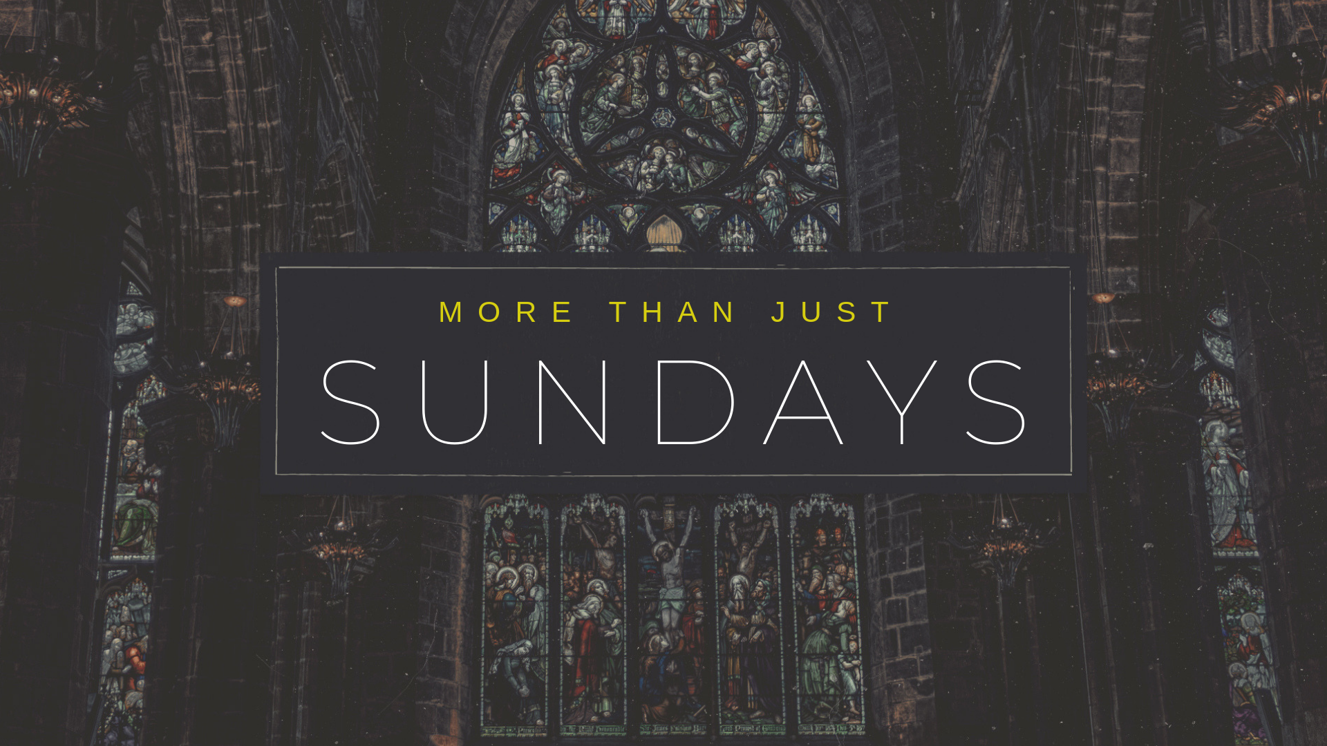 More Than Just Sundays