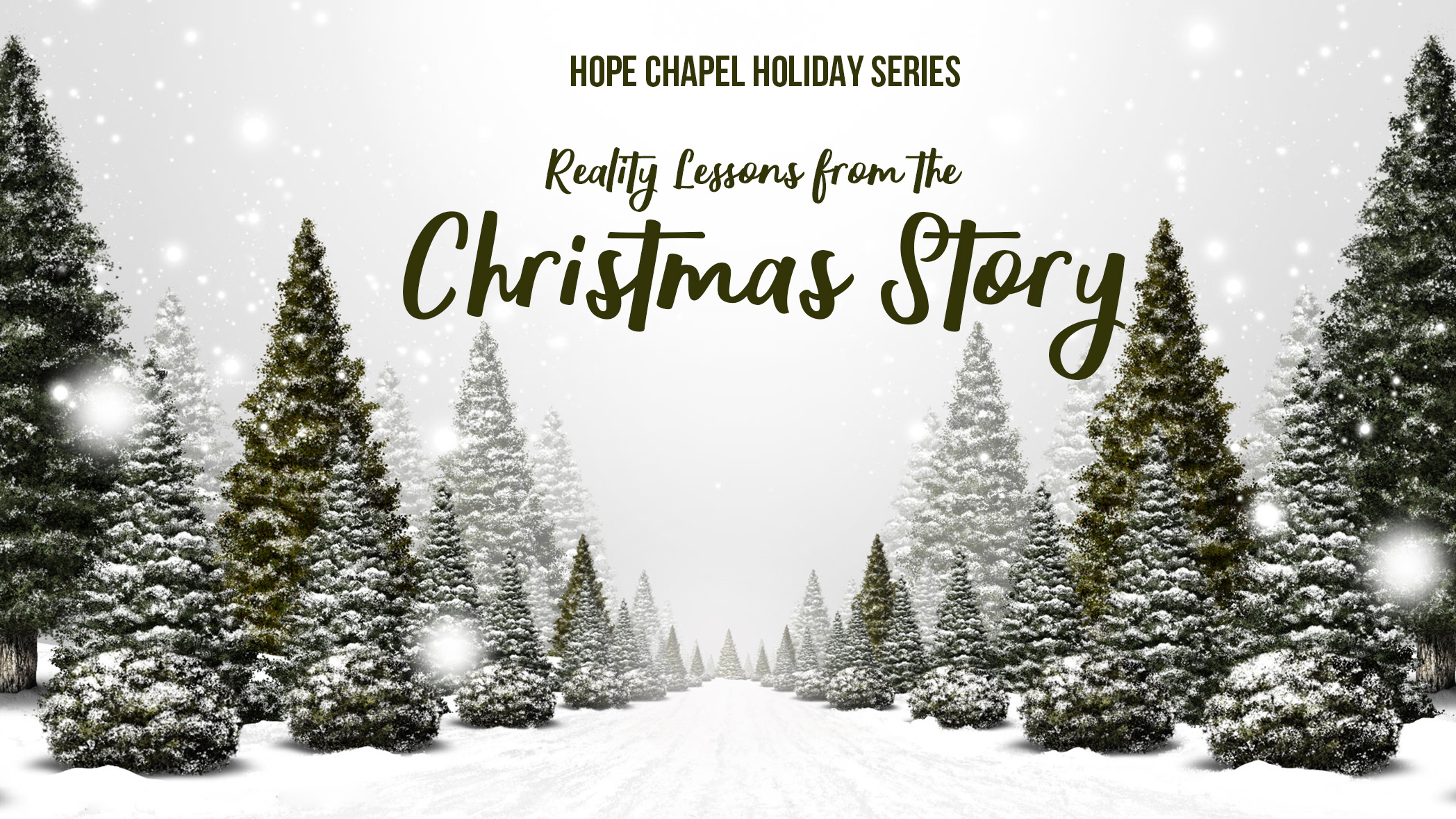 Holiday Series: Reality Lessons from the Christmas Story