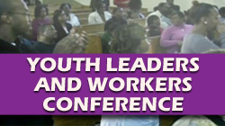 Youth Leaders and Workers Conference