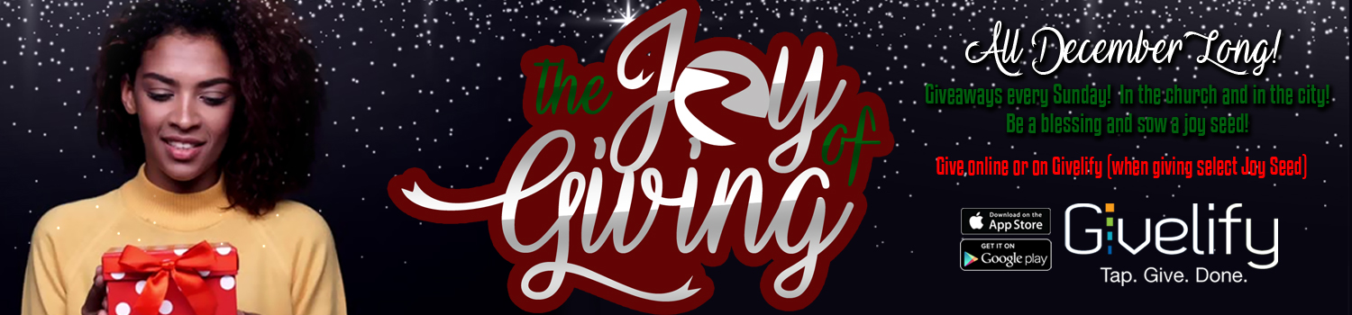 Joy of Giving