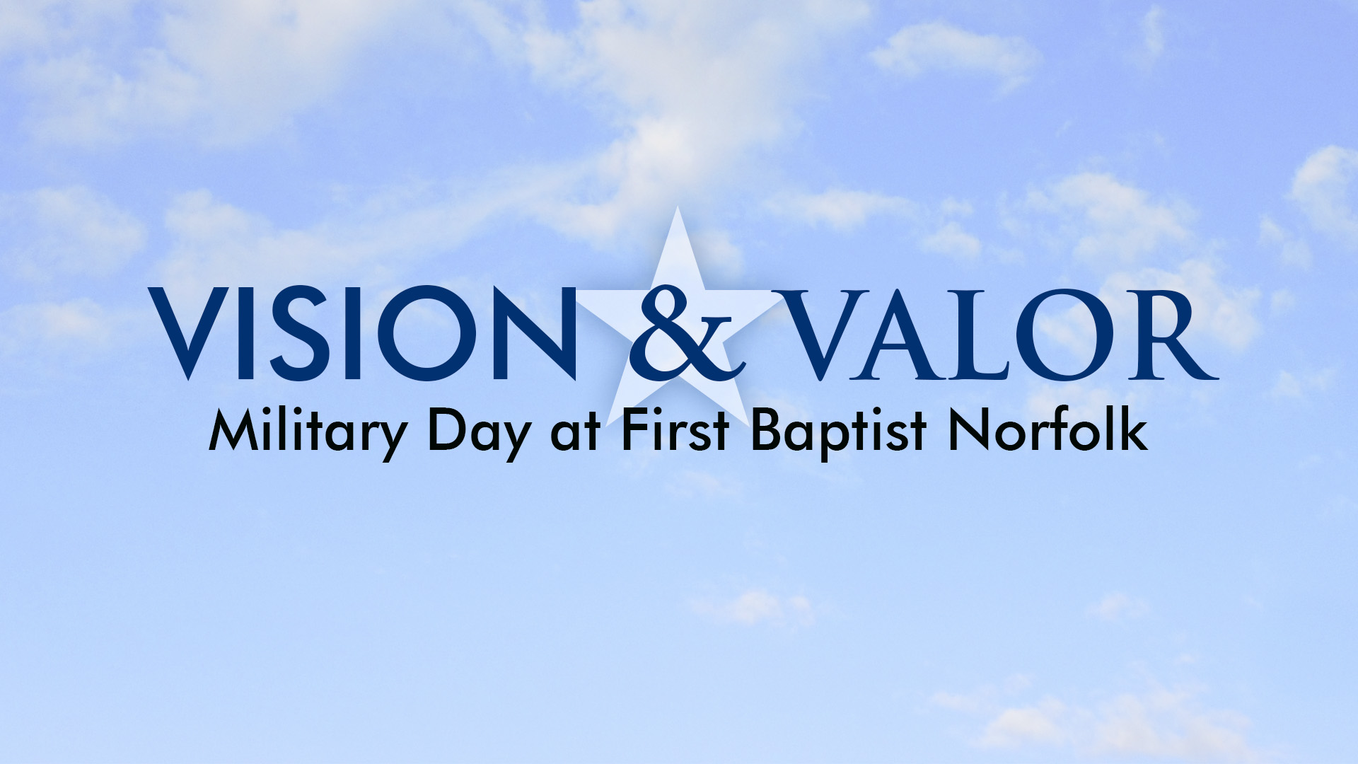 Vision and Valor 2015