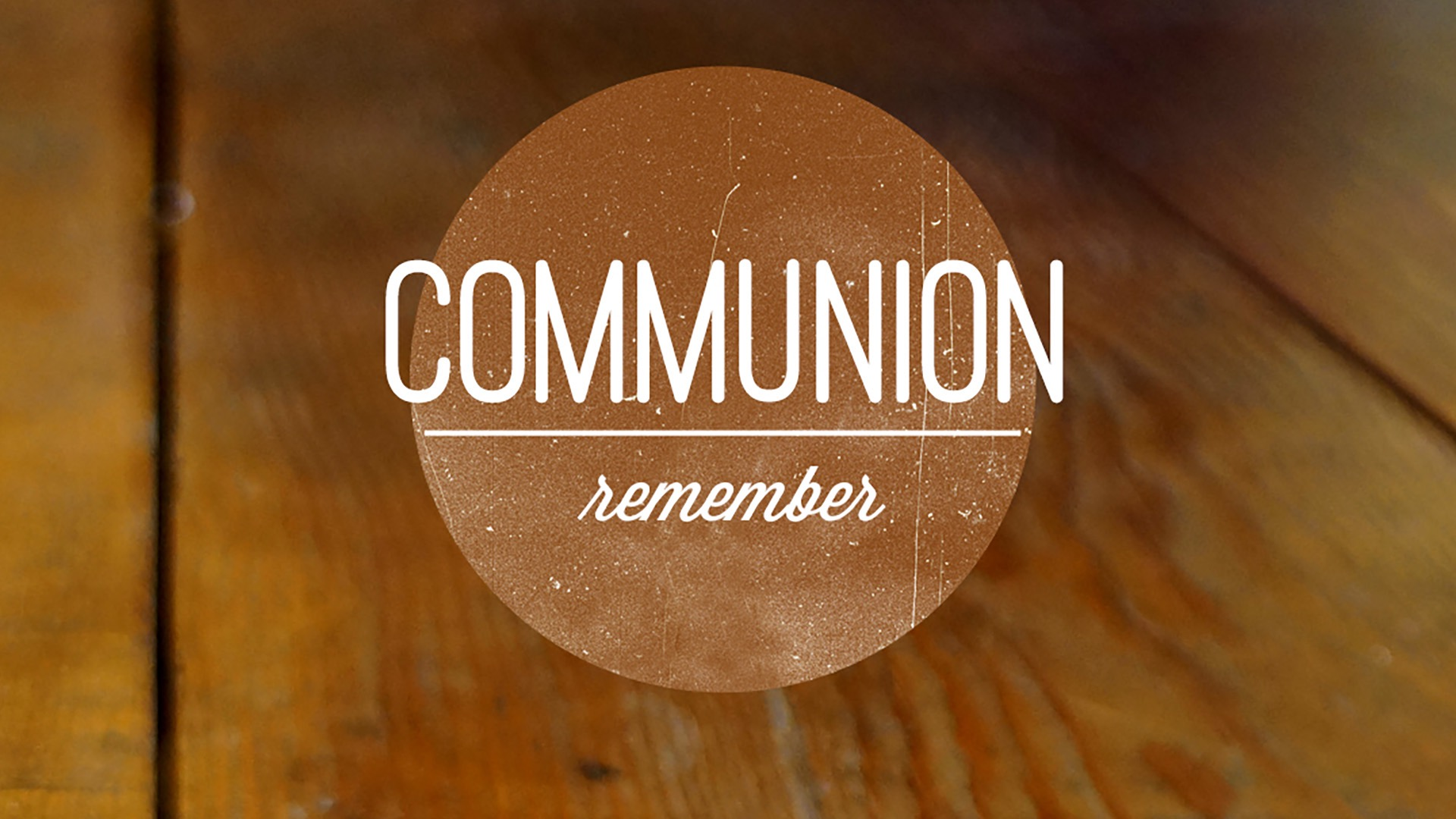 Communion | Tim Whitney