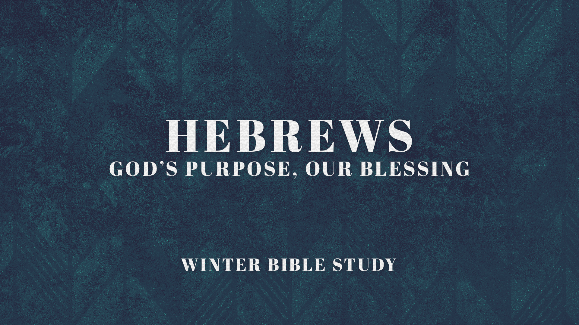 Hebrews: God
