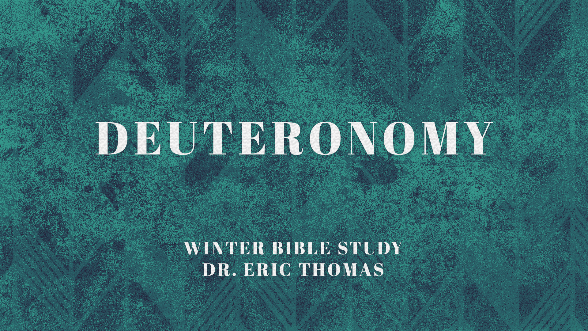 Deuteronomy Bible Study