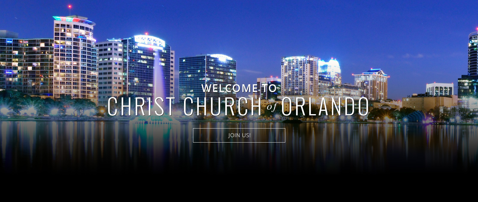Welcome to Christ Church Orlando