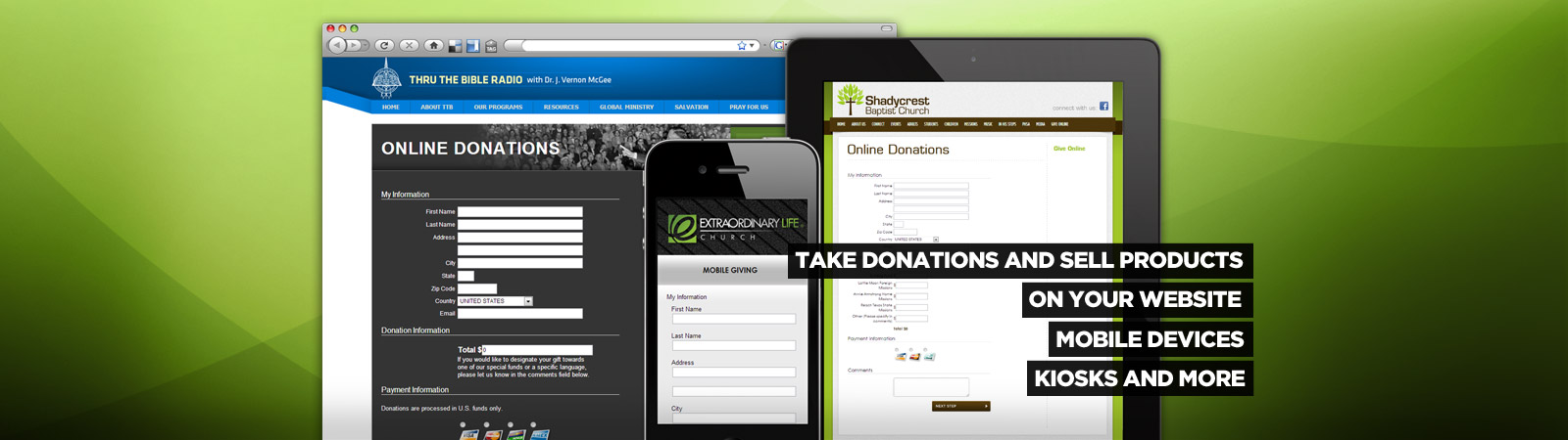 Online Church Donation Management