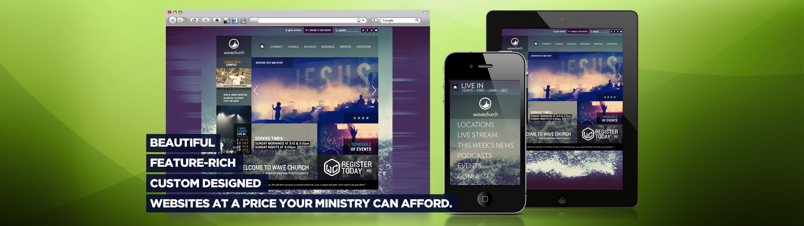 Beautiful Church Websites