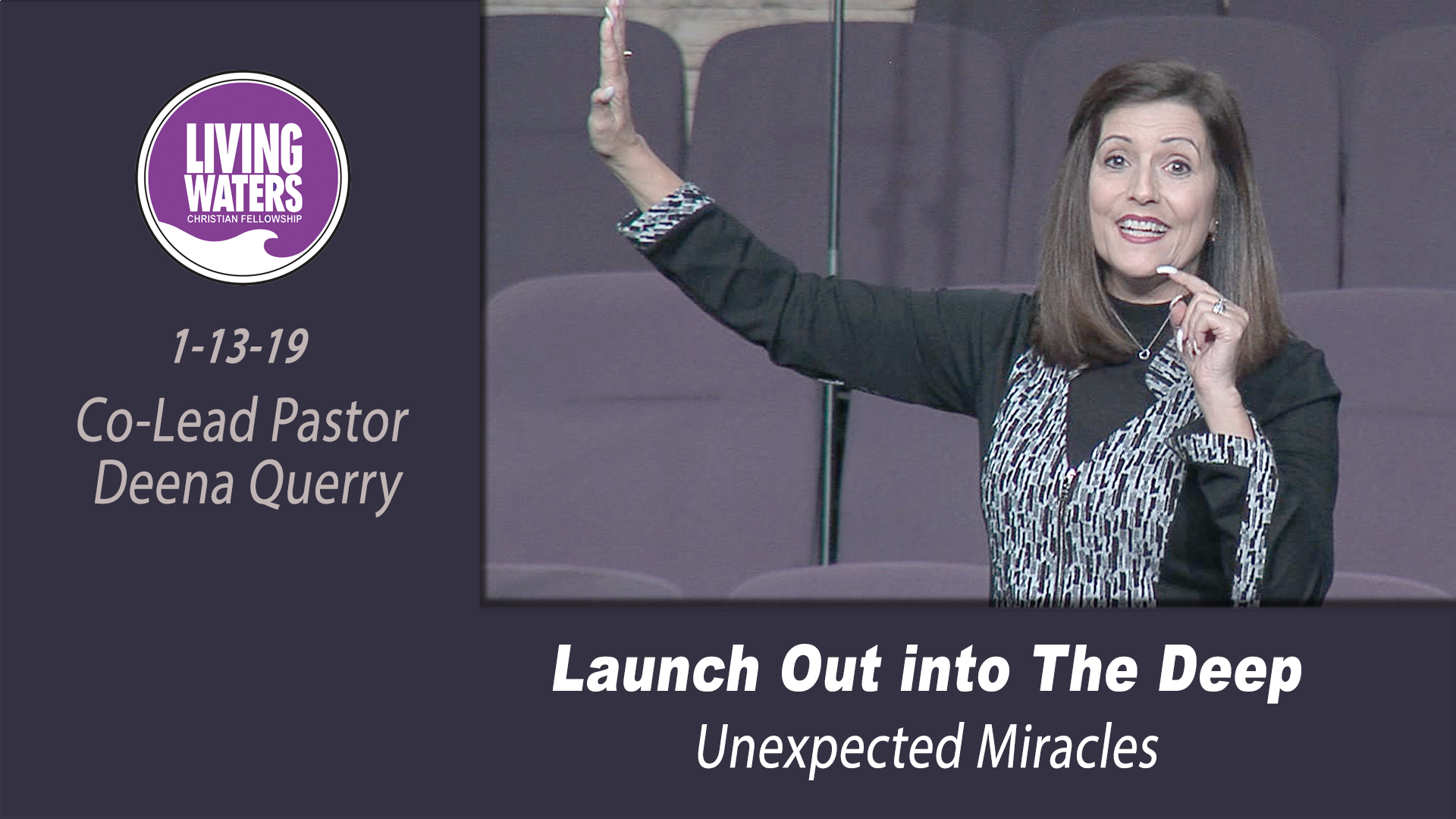 Launch Out Into The Deep – Unexpected Miracles