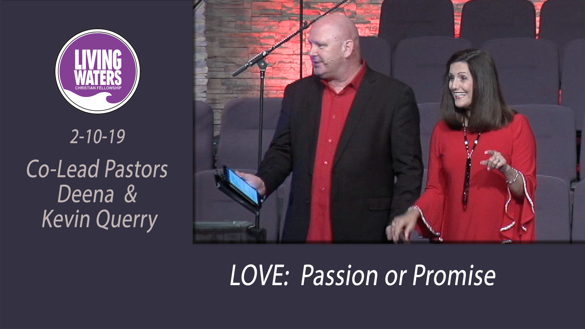 Love: Passion or Promise