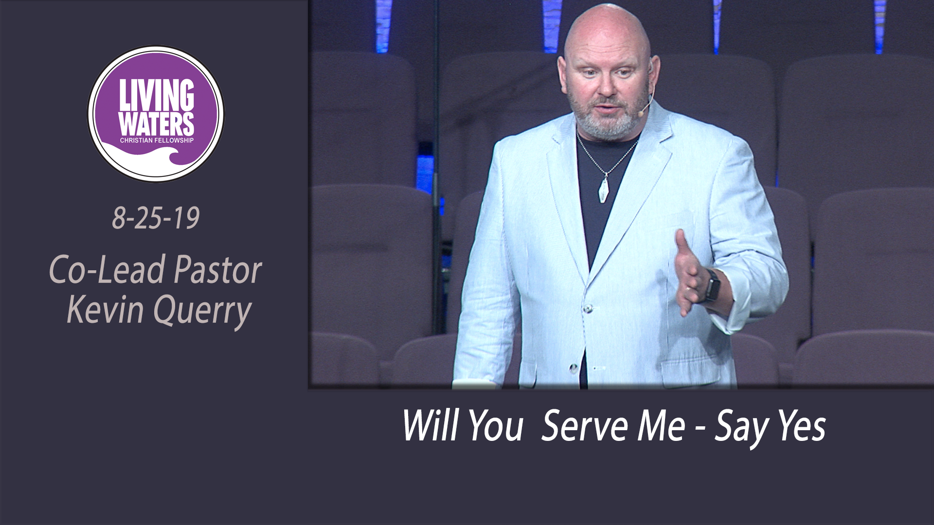 Will You  Serve Me - Say Yes