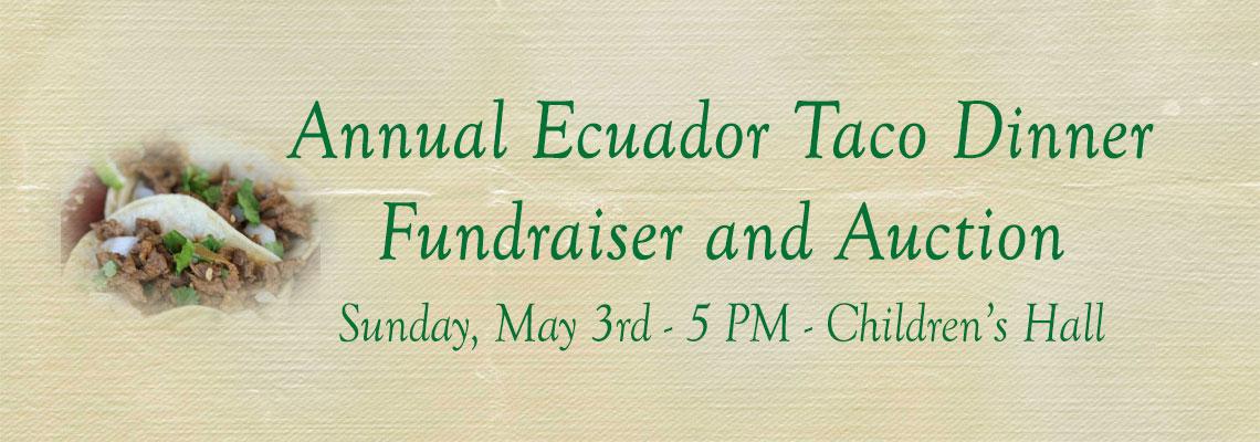 Ecuador Dinner Auction