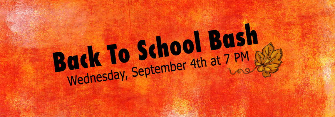 Youth Back To School Bash