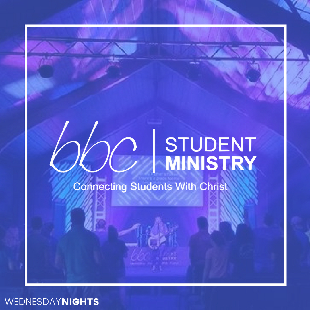 Student Ministry Wednesday Nights