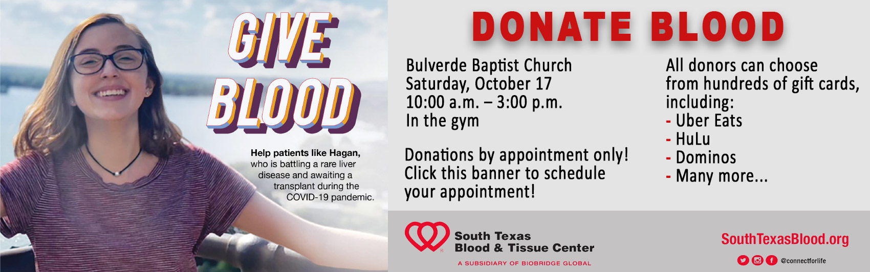 Blood Drive 17 October 2020