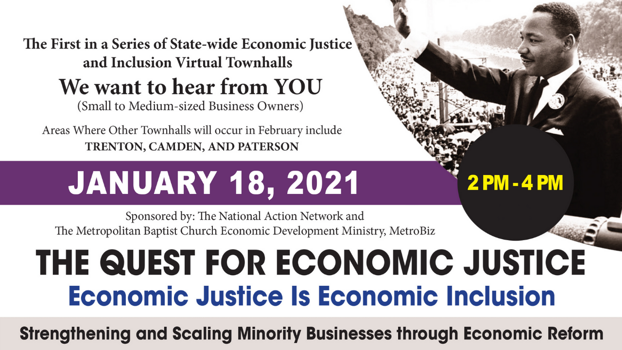 Economic Justice Virtual Townhall