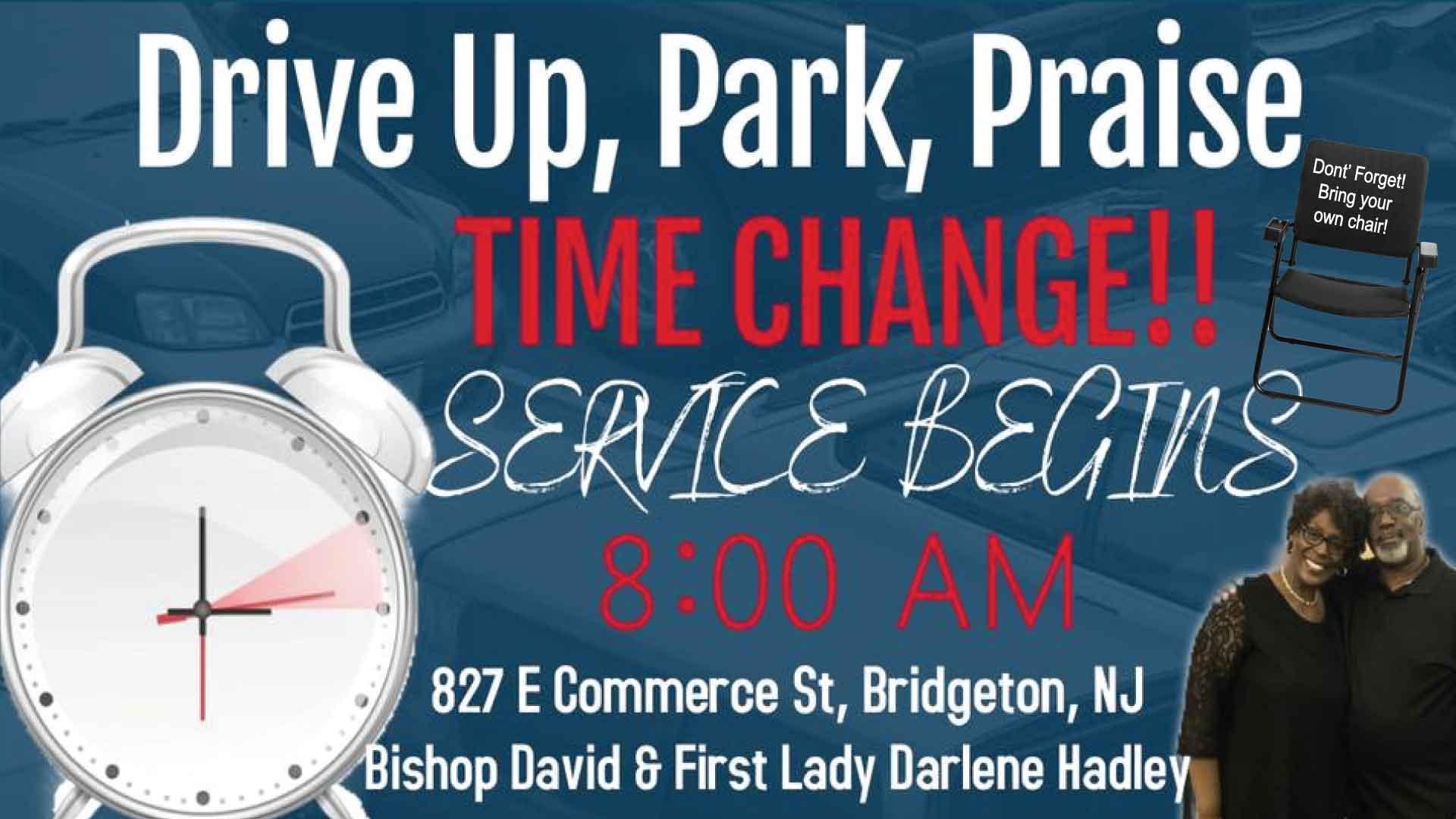 GT. Drive Up Park Praise 2