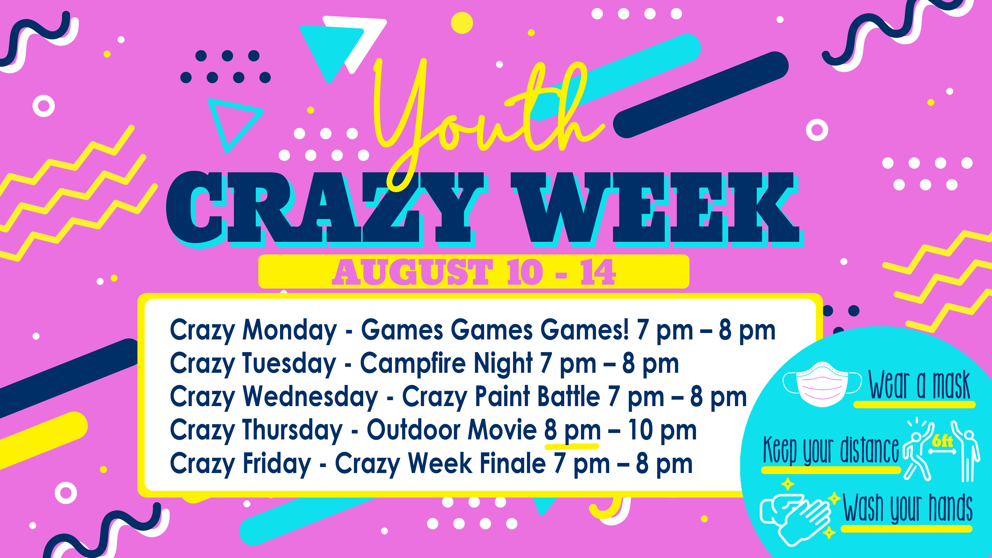Youth Crazy Week