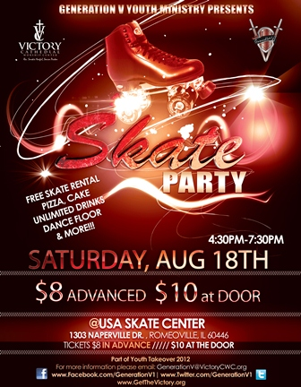 Skate Party Flyer http://www.getthevictory.org/contentpages/19254/245007e1-a2e2-4830-8bc1-b041e9fe32bf/YouthSkateParty.aspx
