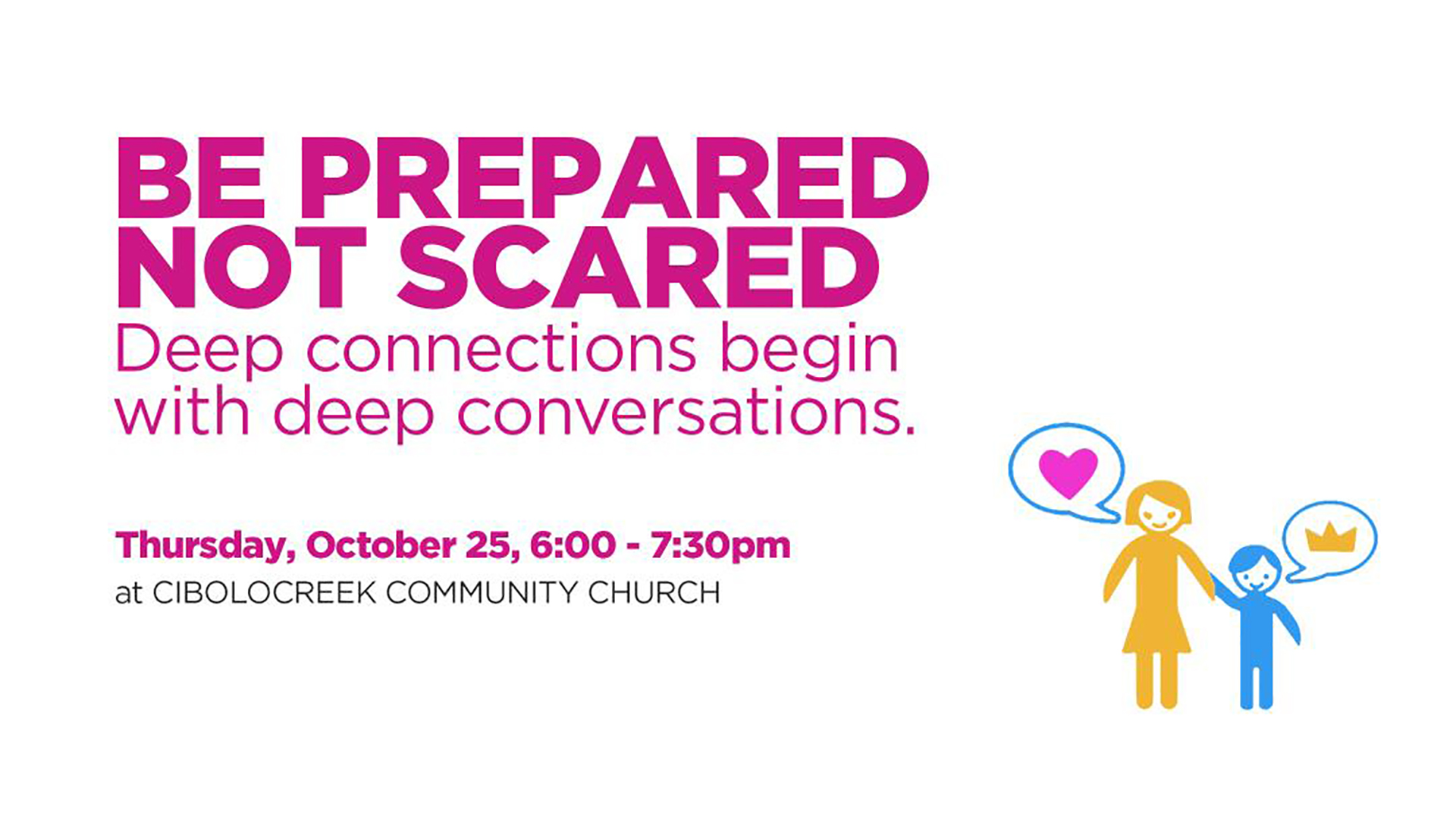 Be Prepared Not Scared - Parent Workshop