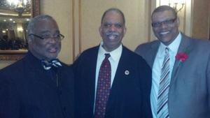 Pastor Williams, Bishop Williams & NYC Council Member Leroy Comeri