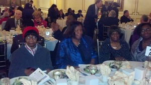 St. Mark Table: Mother Williams, Missionary Hicks & Simmons, Sister Locust