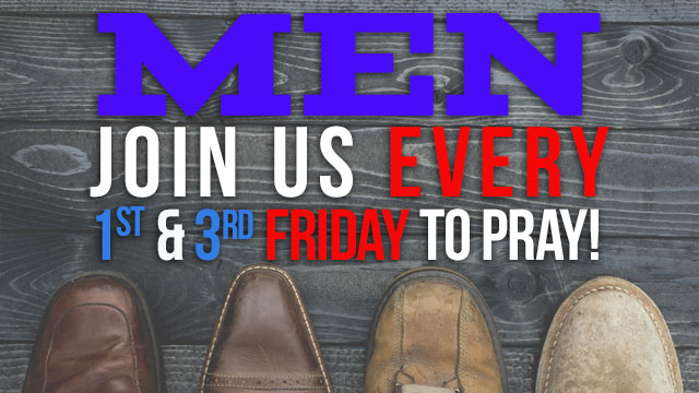Men's Bi-Weeklly Prayer Service
