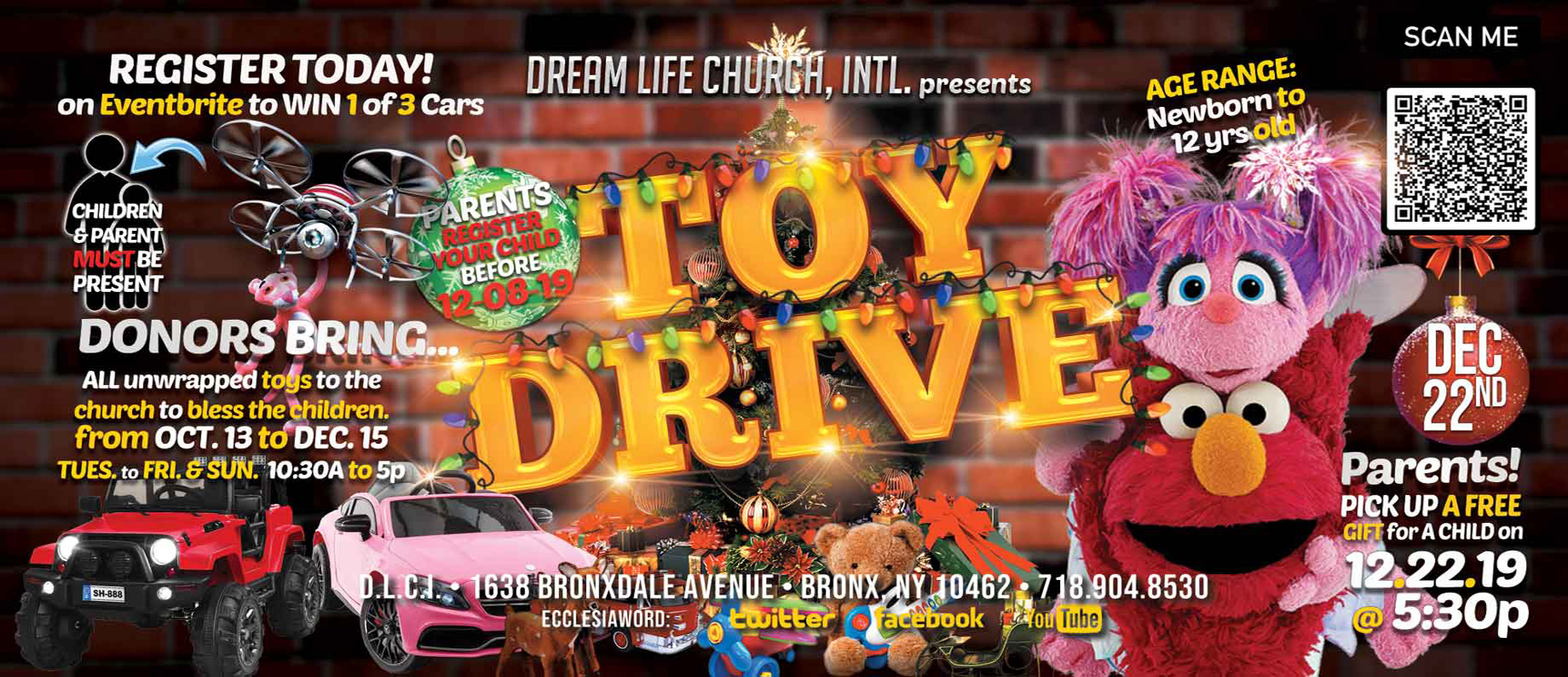 Toy Drive and The Spirit of Giving Christmas Servi