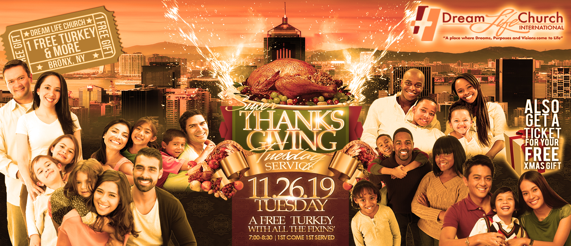 Super Tuesday Thanksgiving Service