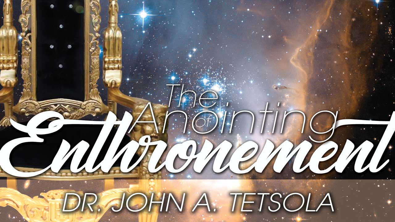 The Anointing of Enthronement