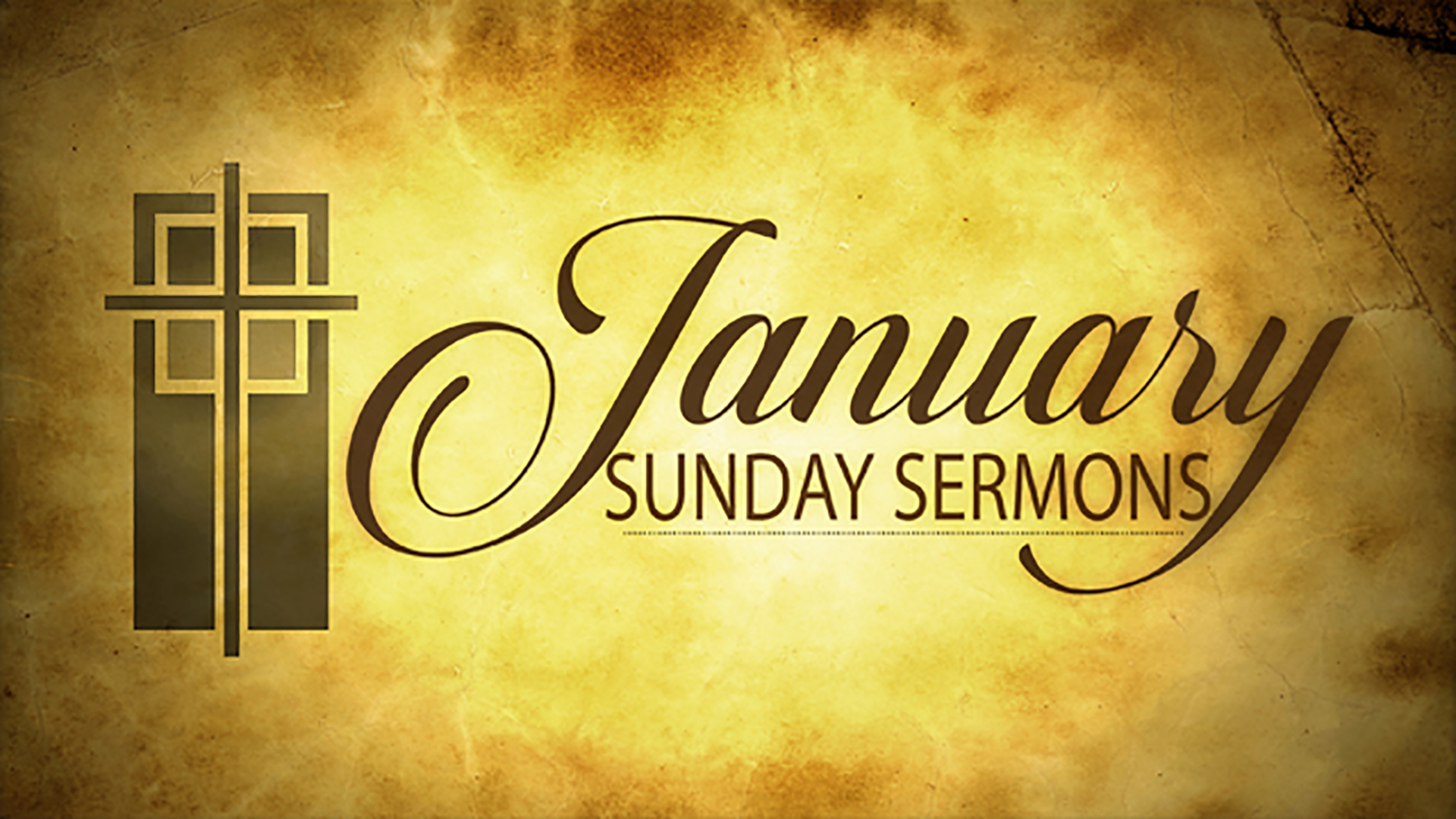 January Sunday Sermons