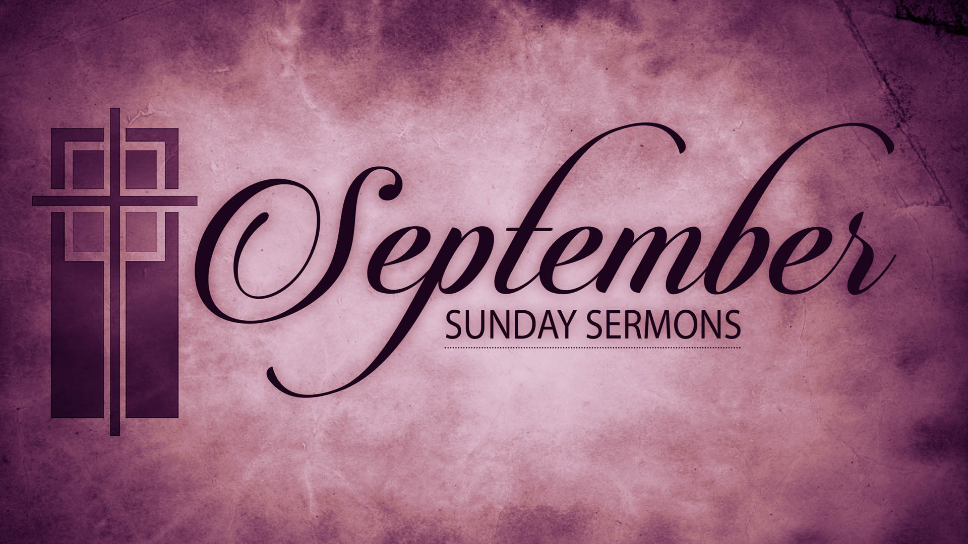 September Sunday Sermons
