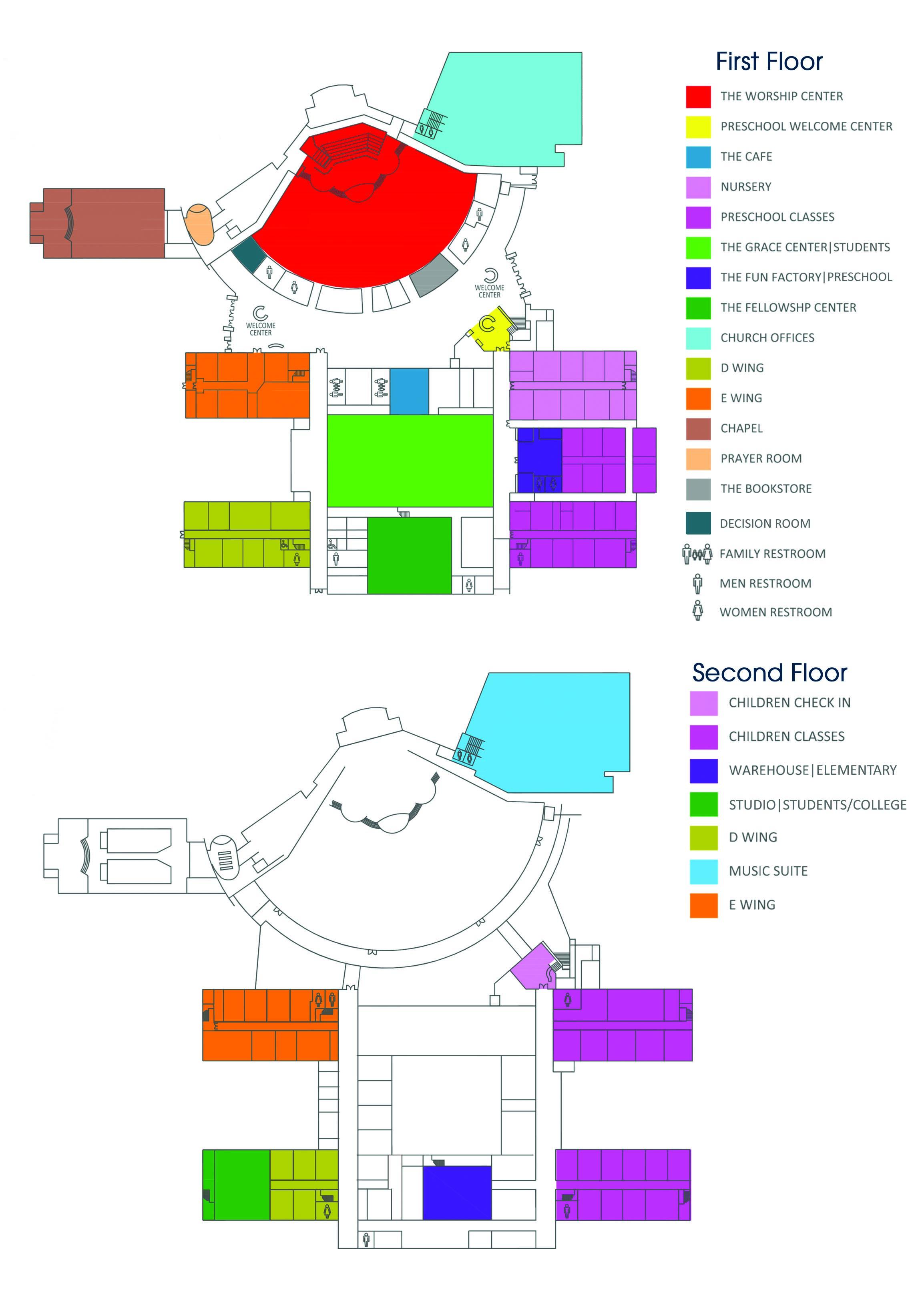 Campus Map   FBC Pasadena
