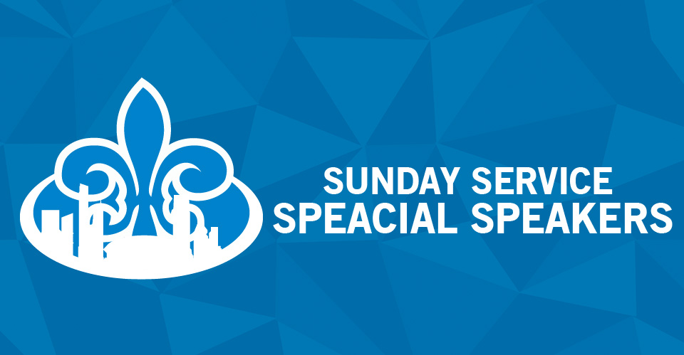 Sunday Special Speakers