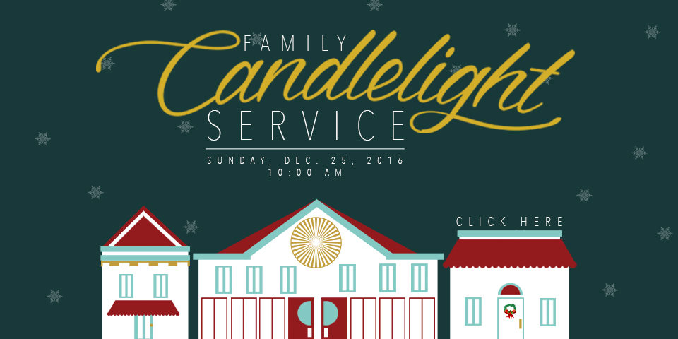 Family Candlelight Service 2016
