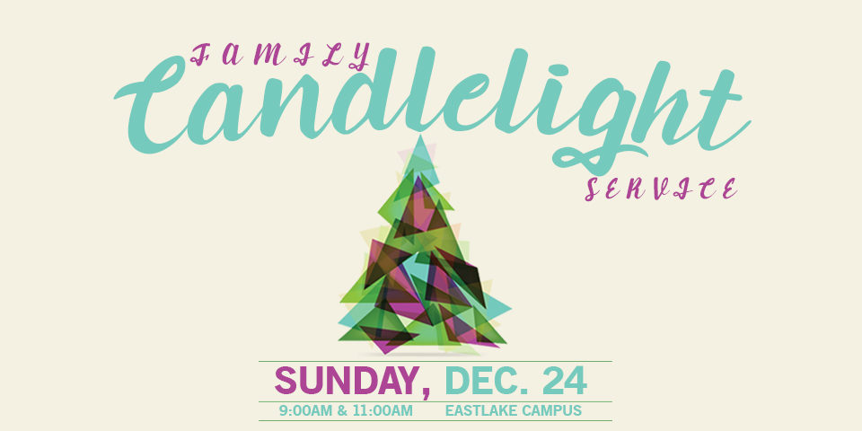 Family Candlelight Service 2017
