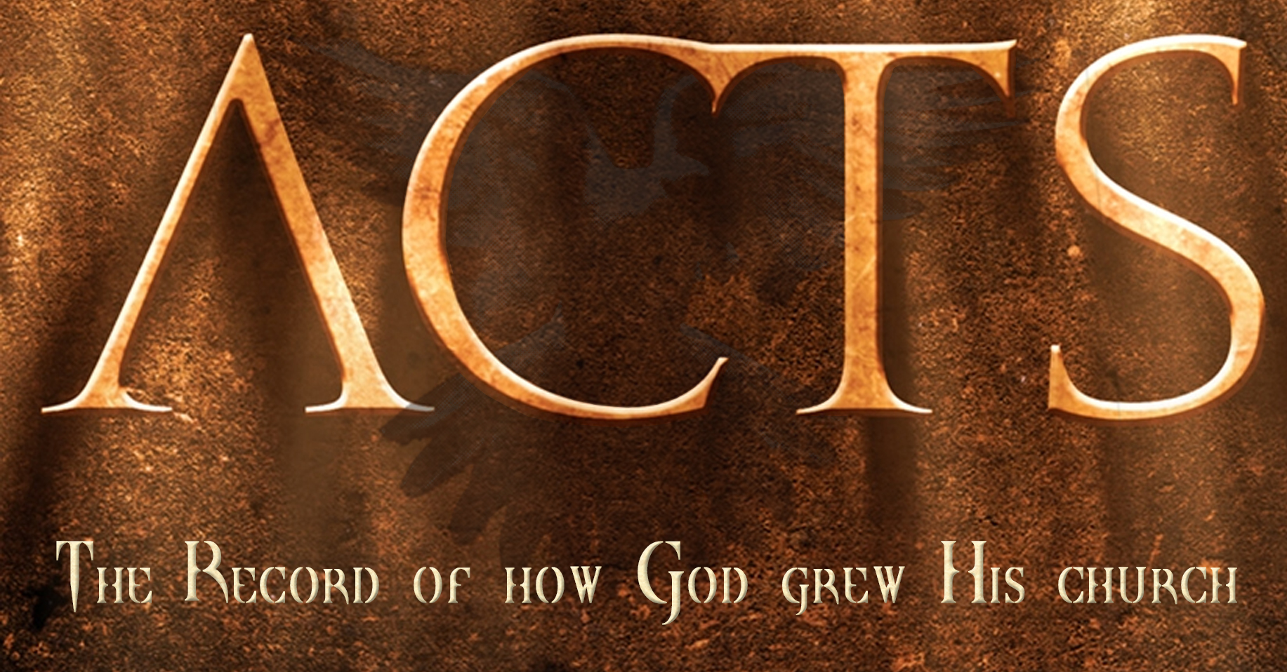 6/14/20 The Book of Acts: Part 1