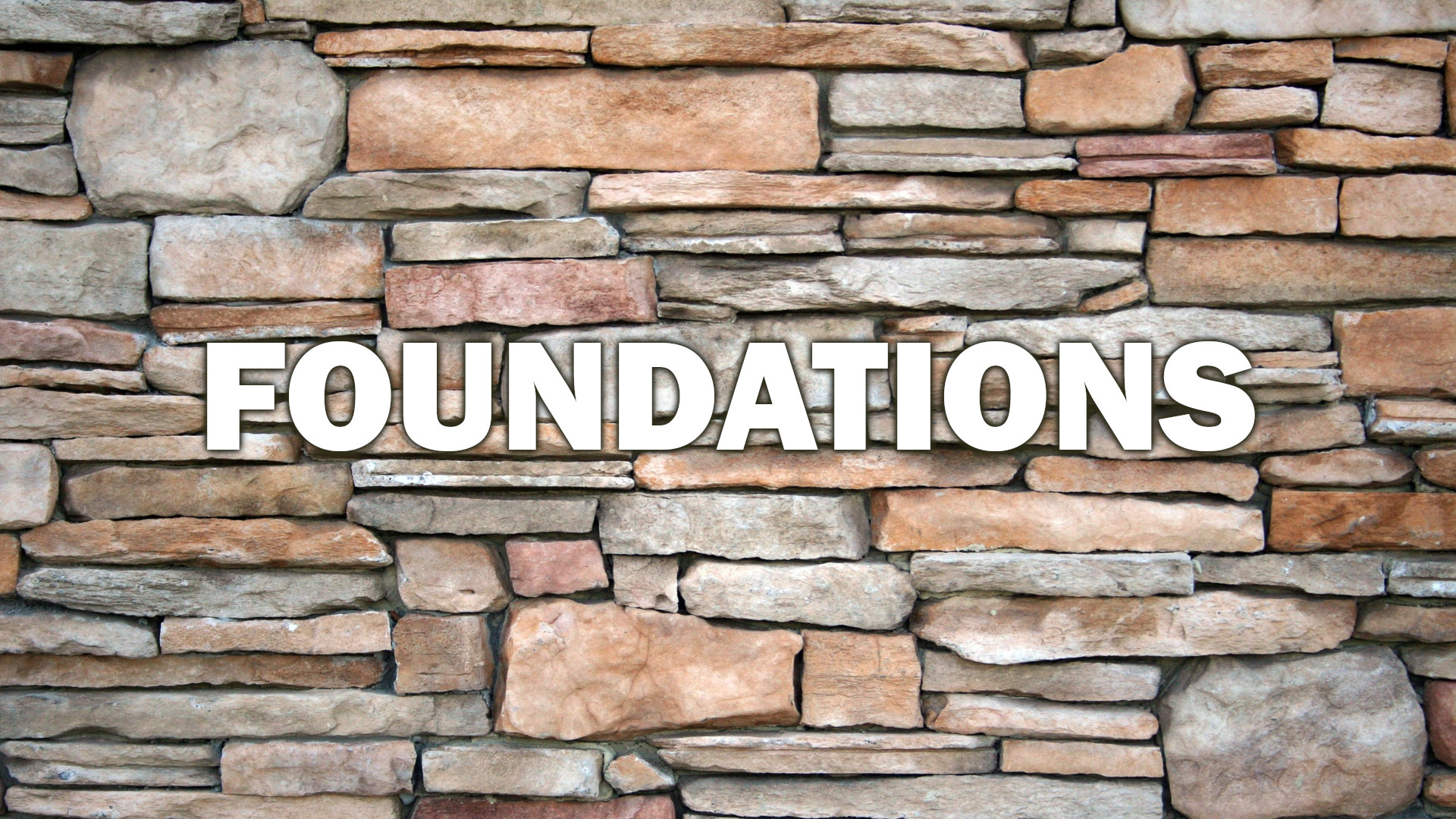 2/23/20 - Foundations: Life on the Rocks