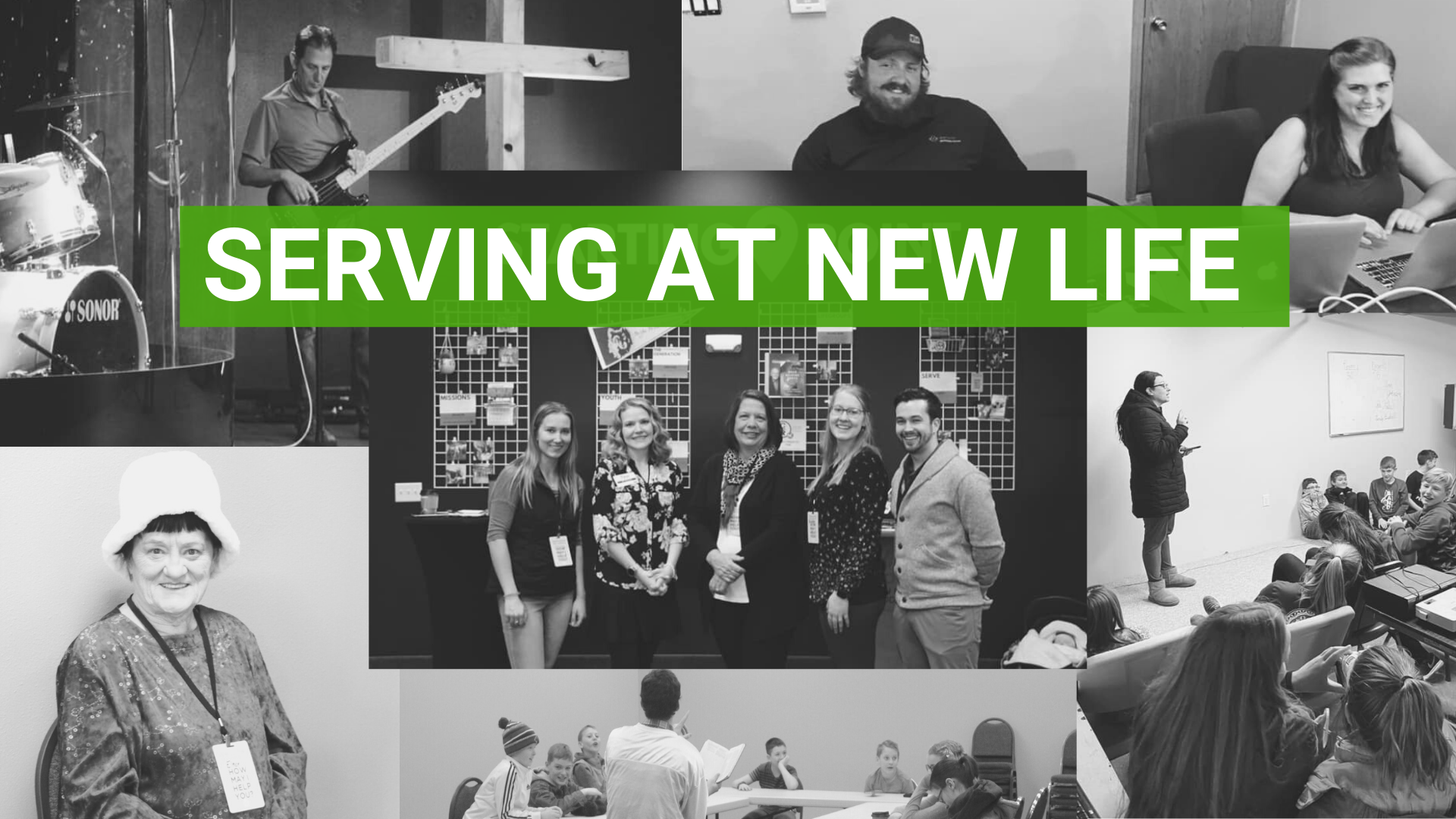 Serving at New Life