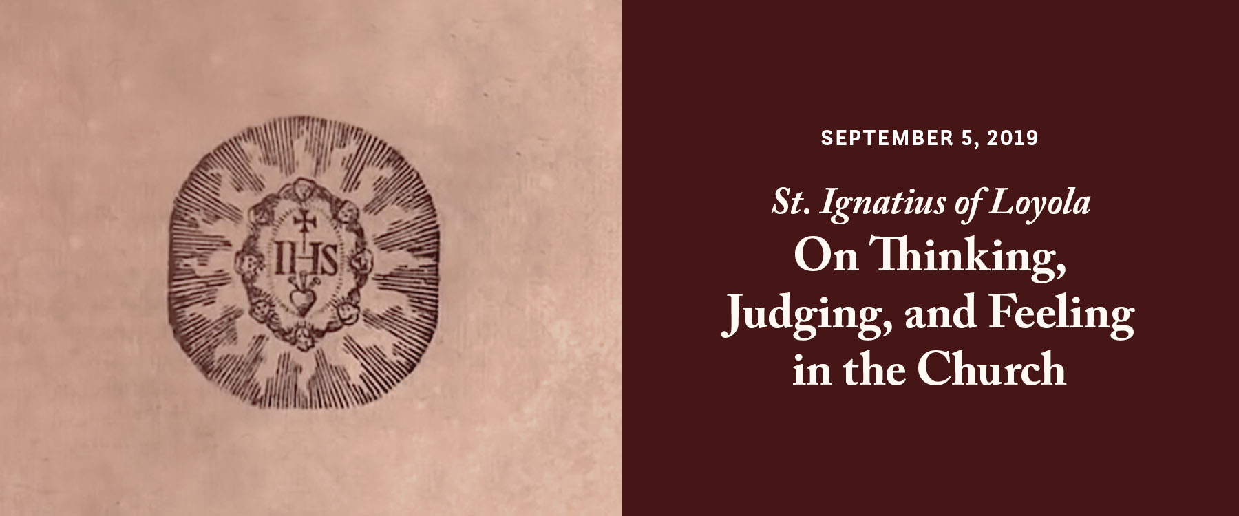 Thinking, Judging, and Feeling in the Church