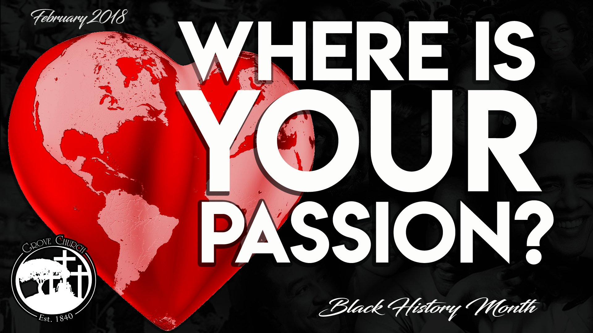 Where's Your Passion - FEB2018