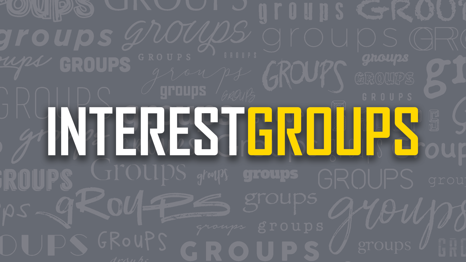 InterestGroups