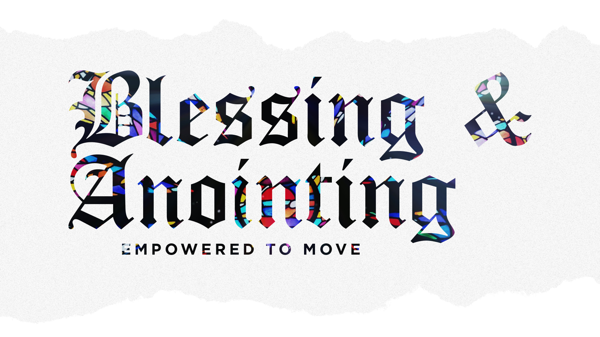 Blessing and Anointing