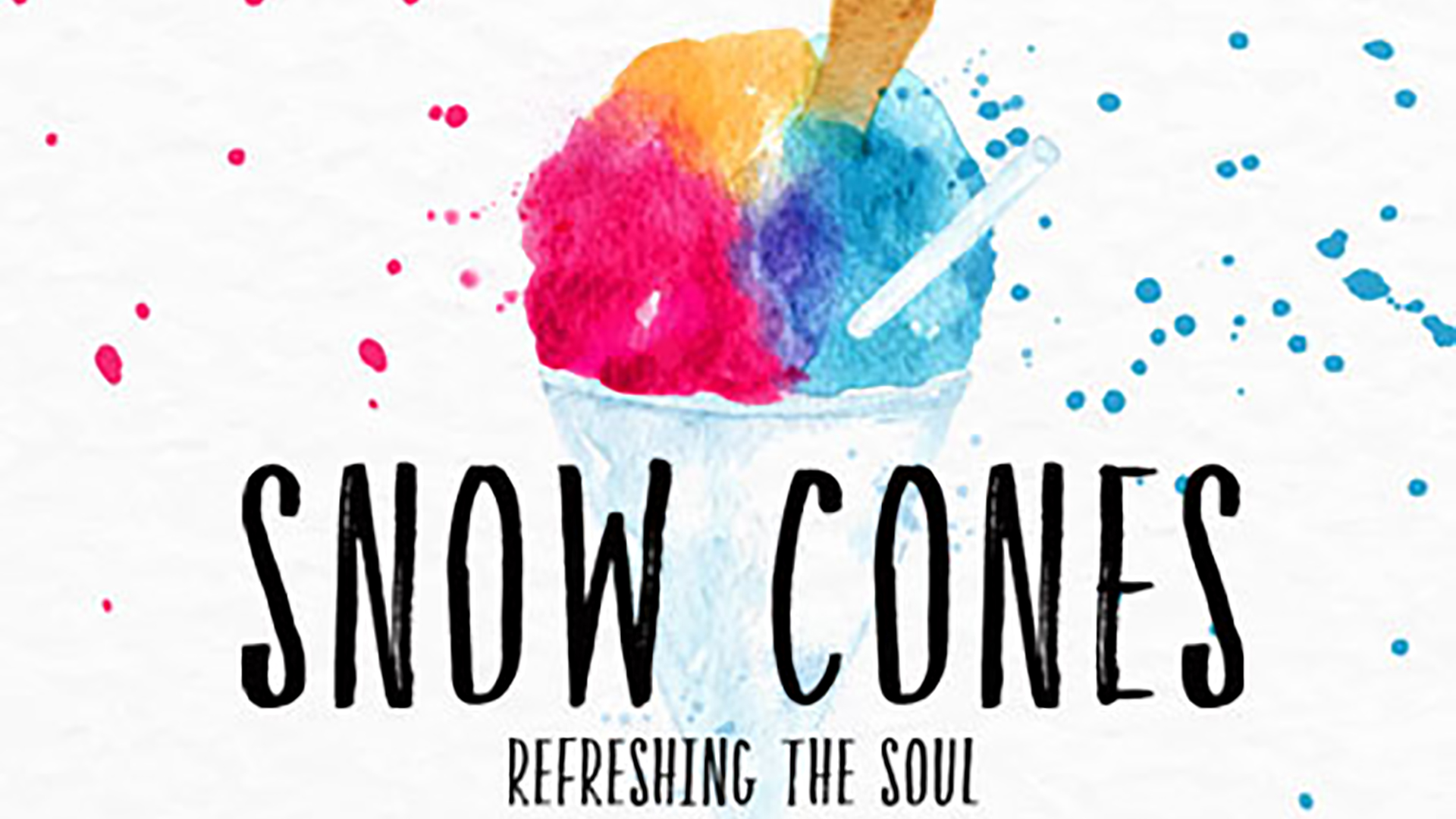 Snow Cones - Week 1