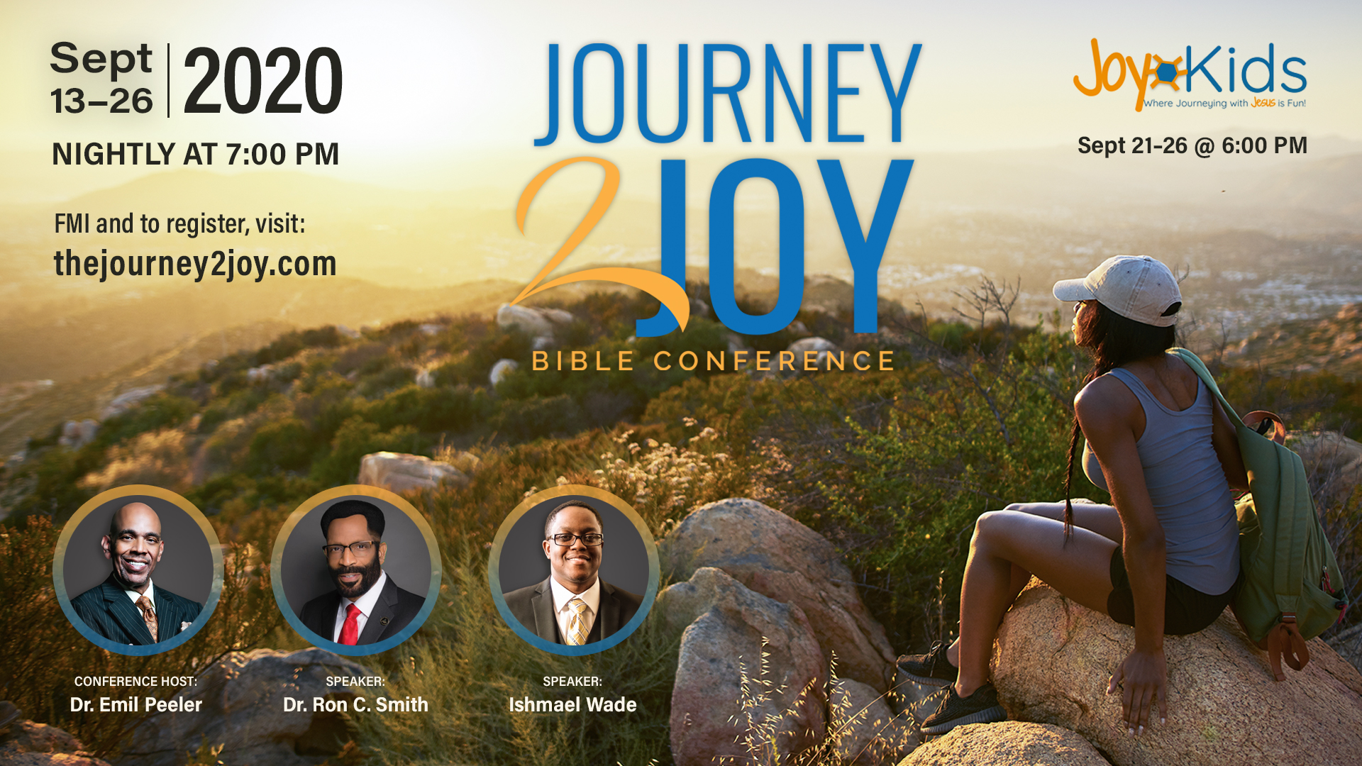 Journey 2 Joy Virtual Bible Conference