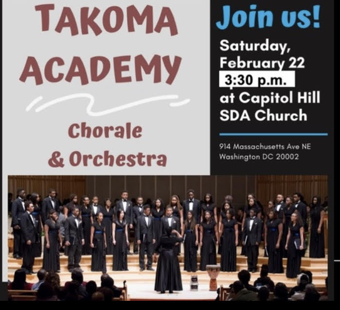 Takoma Academy Chorale and Orchestra