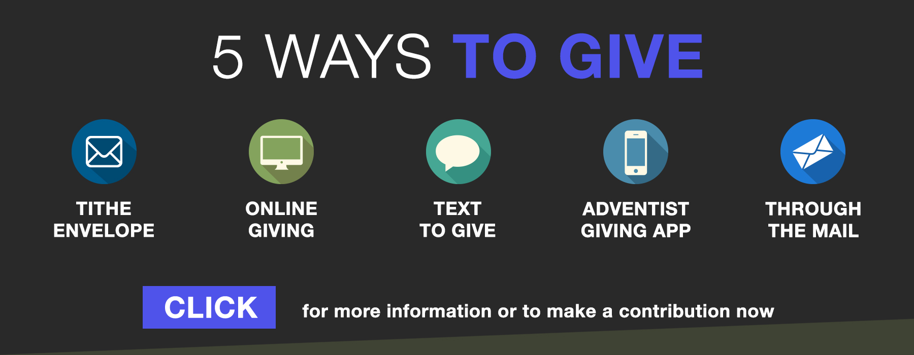 5 Ways to Give