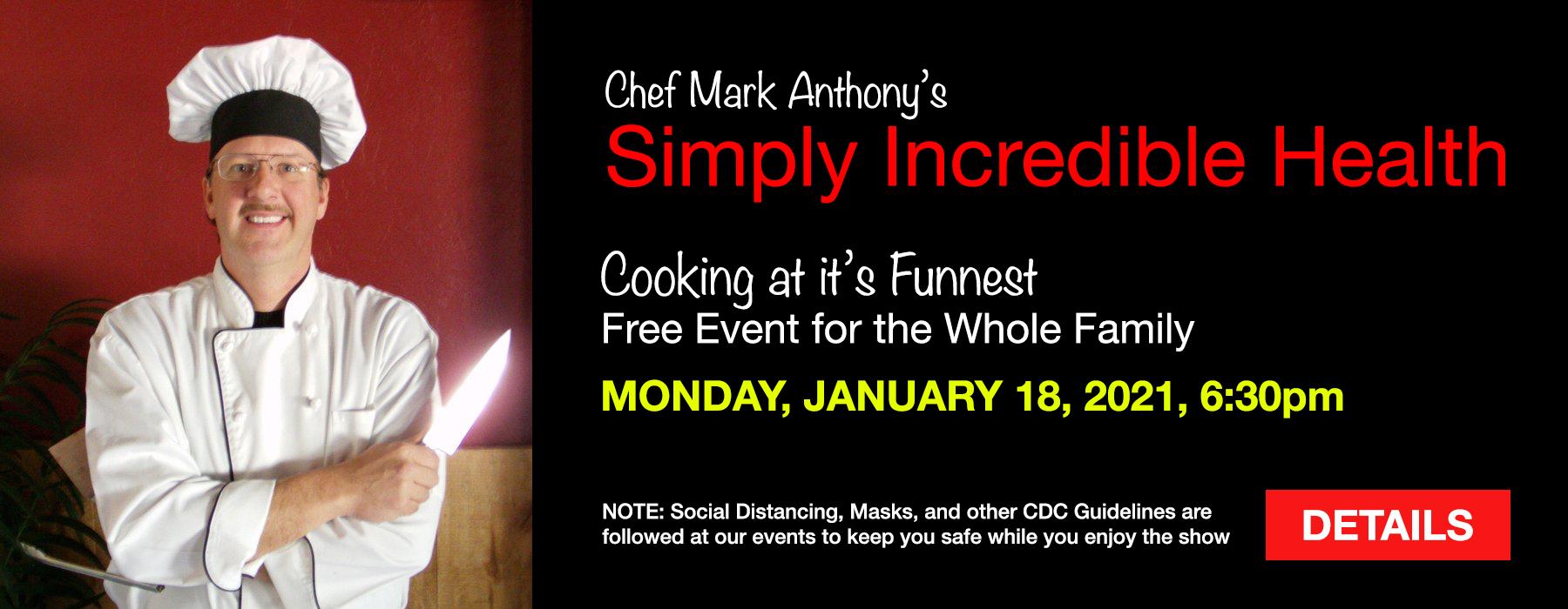 Chef Mark Anthony
